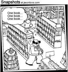 Bookstore humor. So true.
