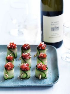 Spicy tuna rolls. This recipe looks so simple & delicious. Definitely something I want to try.