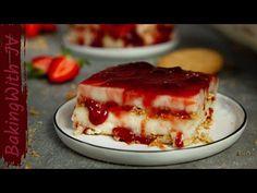 Πανεύκολο Νηστίσιμο Γλυκό Ψυγείου !! 👌😍#νηστίσιμο #vegan - YouTube Greek Recipes, Jello, Tiramisu, Cheesecake, Berries, Pie, Sweets, Cooking, Ethnic Recipes