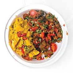 A collection of African recipes.