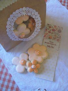 Set obsequio, galletitas, bolsa y tarjeta con diseño personal