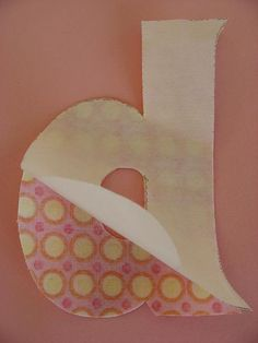 How to applique alphabet letters with handy links to alphabet pdf printables.