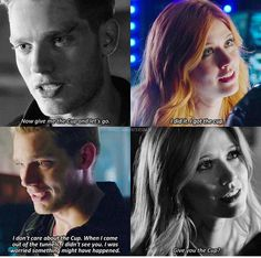 Shadowhunters Clary with the demon pretending to be Jace vs. the real Jace Clary Et Jace, Clary Fray, Shadowhunters Tv Series, Shadowhunters The Mortal Instruments, Shadowhunter Academy, Cassie Clare, Dominic Sherwood, Clace, The Dark Artifices