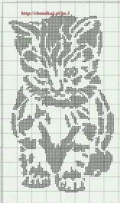 Thrilling Designing Your Own Cross Stitch Embroidery Patterns Ideas. Exhilarating Designing Your Own Cross Stitch Embroidery Patterns Ideas. Filet Crochet, Crochet Chart, Knitting Charts, Knitting Stitches, Knitting Patterns, Crochet Patterns, Crochet Ideas, Cross Stitch Charts, Cross Stitch Designs