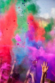 Color Run, Robelle Domain, Springfield Central, Australia