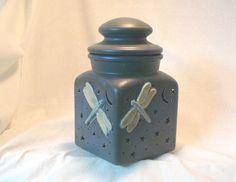 Ceramic Dragonfly Lantern @Michelle Brungardt Weigel #dteam