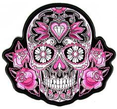 The arts and crafts movement meets Dia de los Muertos. Description from…