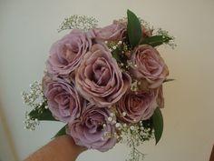 Amnesia Rose Wedding Bouquet Amnesia rose and gyp bouquet