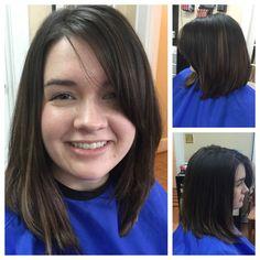 Long angled bob by Shelia at The Hair Salon Older Women Hairstyles, Salons, Bob, Hair Styles, Hair Plait Styles, Lounges, Bob Cuts, Hair Makeup, Hairdos