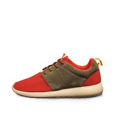 new style 00503 64b2d Nike Rosherun (Challenge Red   Dark Pewter)