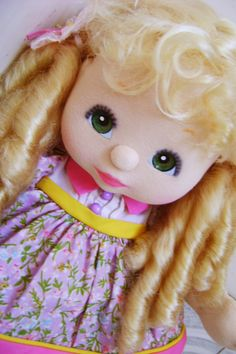 Child Doll, Georgia, Dolls, Disney Princess, Children, Baby Dolls, Cloth Art Dolls, Trapillo, Young Children