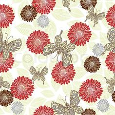 3406758-950981-retro-style-vector-seamless-pattern-fabric-wallpaper-wrapping-and-background-with-flower-leaf-and-butterfly-ornaments-summer-and-spring-theme-for-decoration-and-design.jpg (480×480)
