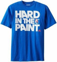 Amazon.com: NBA Los Angeles Clippers Men's Hard Paint Short Sleeve Tee: Sports & Outdoors