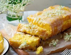 Holunderblüten-Zitronen-Kuchen Rezept