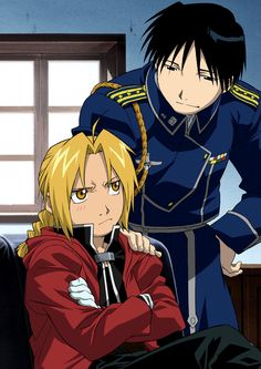 Tags: SQUARE ENIX, Fullmetal Alchemist, Edward Elric, Roy Mustang