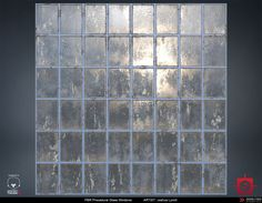 ArtStation - PBR Procedural Industrial Window Material Study, Joshua Lynch