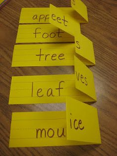 Teaching plurals strategy!  Very simple, visual, and practical.