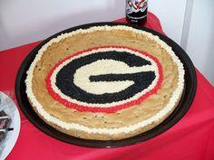 Georgia Cookie Cake!!! ♥