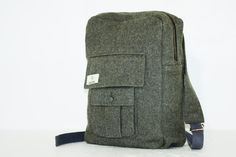 Globe Hope Kaarina backbag made from recycled jackets from the Swedish army