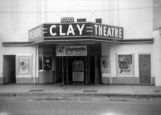 Entrance at the Clay Theatre - Green Cove Springs, Florida