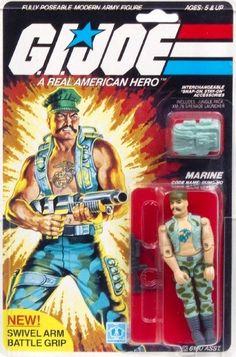 GI JOE Hasbro ARAH GUNG HO Vintage Action Figure MOC A Real American Hero 1983