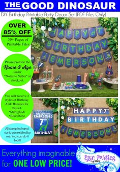 85% OFF The Good Dinosaur Birthday Good Dinosaur Party