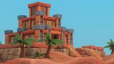 The Desert Tomb by pepedrago