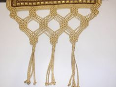 Beaded Embroidery, Cross Stitch Embroidery, Point Lace, Plant Hanger, Macrame, Beads, Home Decor, Art, Disney
