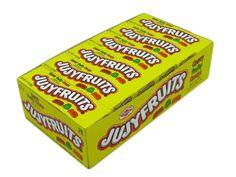 $21.99 http://sanduskycandy.com/candy-colors/yellow-candy/Jujyfruits-2-1-oz-box-box-of-24.html