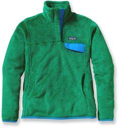 Patagonia Re-Tool Snap-T Fleece Pullover - Tumble Green/Malachite X - Medium