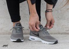 Nike Wmns Air Max Thea (Iron / Dark Storm - White)