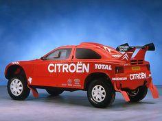 1993–97 Citroën ZX Rally Raid Citroen Sport, Citroen Zx, Psa Peugeot Citroen, Automobile, Rally Raid, France, Le Mans, Safari, Ss