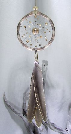 Natural Hemp Wall Hanging Dreamcatcher Jasper Beads Woodcock Feathers Ornament Beaded Dream Catcher Natural Bedroom Decor House Warming Gift by TigerEmporium on Etsy Dreams Catcher, Los Dreamcatchers, Dreamcatcher Feathers, Relaxation Gifts, Organza Gift Bags, Suncatchers, Little Gifts, Wind Chimes, Boho