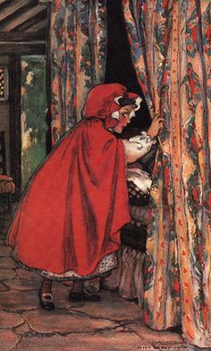 RED RIDING HOOD.   Jessie Wilcox Smith, American 1919