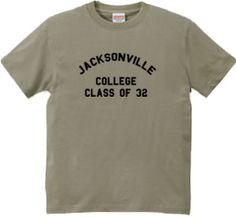 Jacksonville : atonal [半袖Tシャツ [DALUC]] - デザインTシャツマーケット/Hoimi(ホイミ)