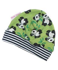 Passende Mütze zur Panda-Pumphose von kleine Könige. Sooo süß!