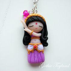 Kawaii Cuties Sweet Odalisque Pendant with by GothicToyland, €15,00