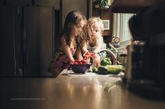 Washing The Day's Harvest By Jen Bilodeau
