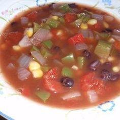 Cajun Sweetcorn Soup @ http://allrecipes.co.uk