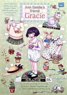 MARY-ENGELBREIT-Mag-Paper-Doll-Gracie-April-May-2000-Uncut