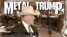 Watch DONALD TRUMP Sings PANTERA's 'Cowboys From Hell'