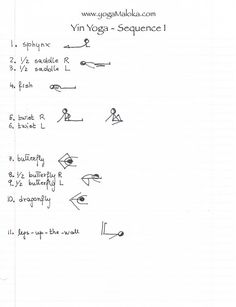 Afbeeldingsresultaat voor yin yoga sequences