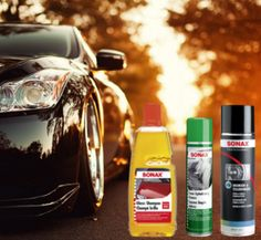Buy Sonax professional car care products