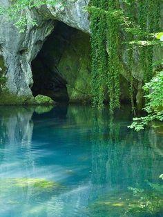 Turquoise pool Serbia