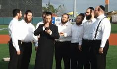 Jewish Humor Central: Hasidic Singers Kick Off Baseball Game With National Anthem and God Bless America