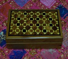 Bouchra Jewerly Twiya Wood Box : Treasures of Morocco