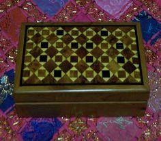 Bouchra Jewerly Twiya Wood Box : Treasures of Morocco
