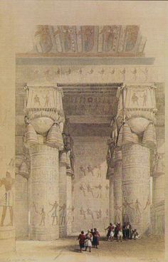 dendera-columns