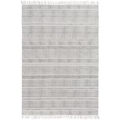Hand-Woven Charleigh Cotton Rug (8' x 10') | Overstock.com Shopping - The Best Deals on 7x9 - 10x14 Rugs
