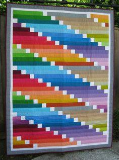 "Belinda Gelhausen -- ""20 Hour"" Color Riot Quilt"